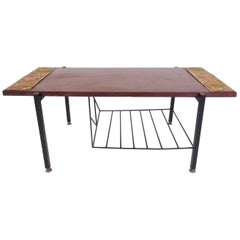 Petite Italian Modern Coffee Table
