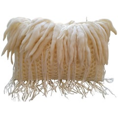 Handwoven Merino Wool Italian Pillow