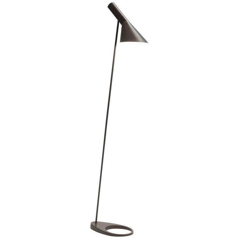 Vintage Arne Jacobsen AJ Visor Floor Lamp by Louis Poulsen