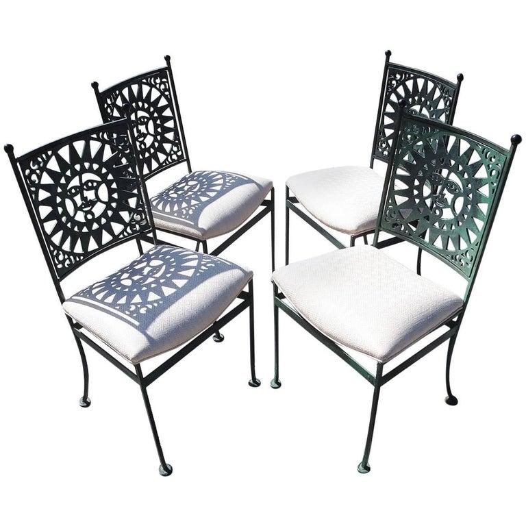 """Arthur Umanoff """"Mayan"""" Dining Chairs - Set of Four"""