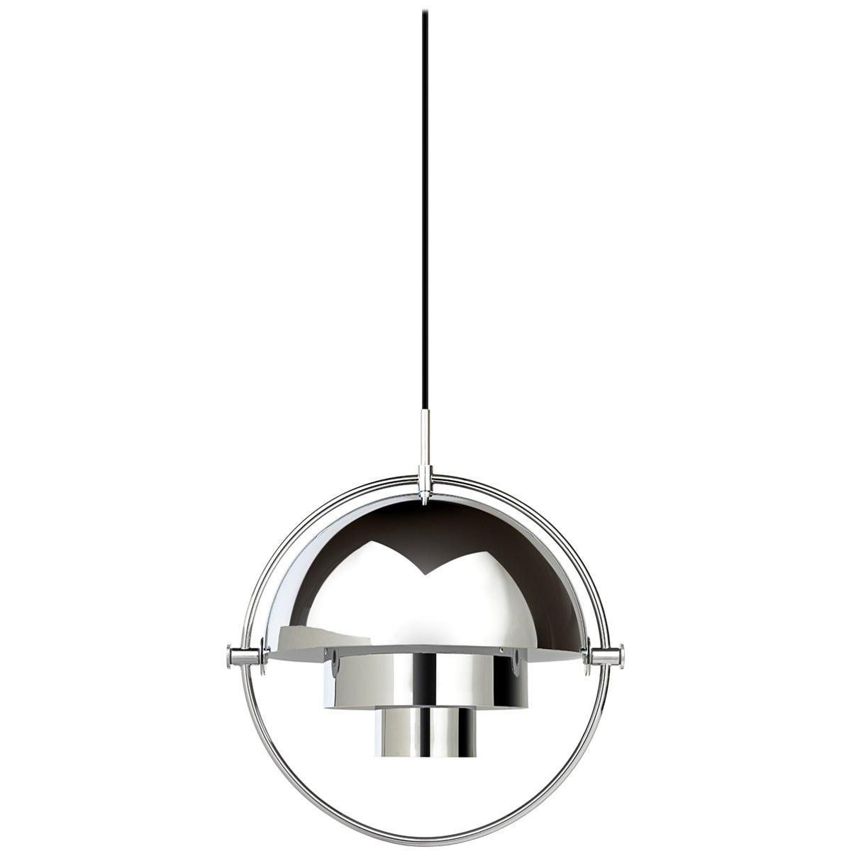 Brass Multi-Light Pendant, Louis Weisdorf