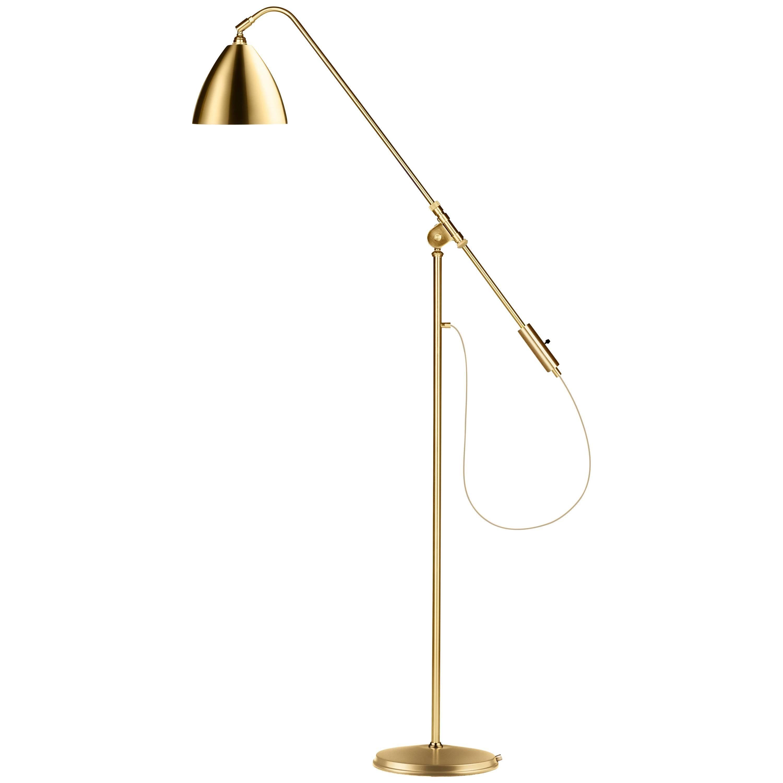 Contemporary Brass Floor Lamp, Robert Dudley Best