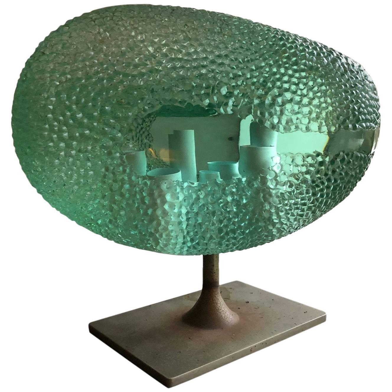 Rare Sculpture from Luciano Vistosi, Signed and Dated 1968