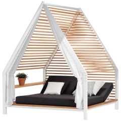 Cottage Outdoor Pavilion with Daybed by Patricia Urquiola for Kettal