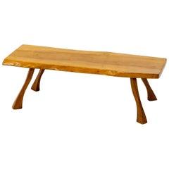 Tree Slab Coffee Table, 1960s