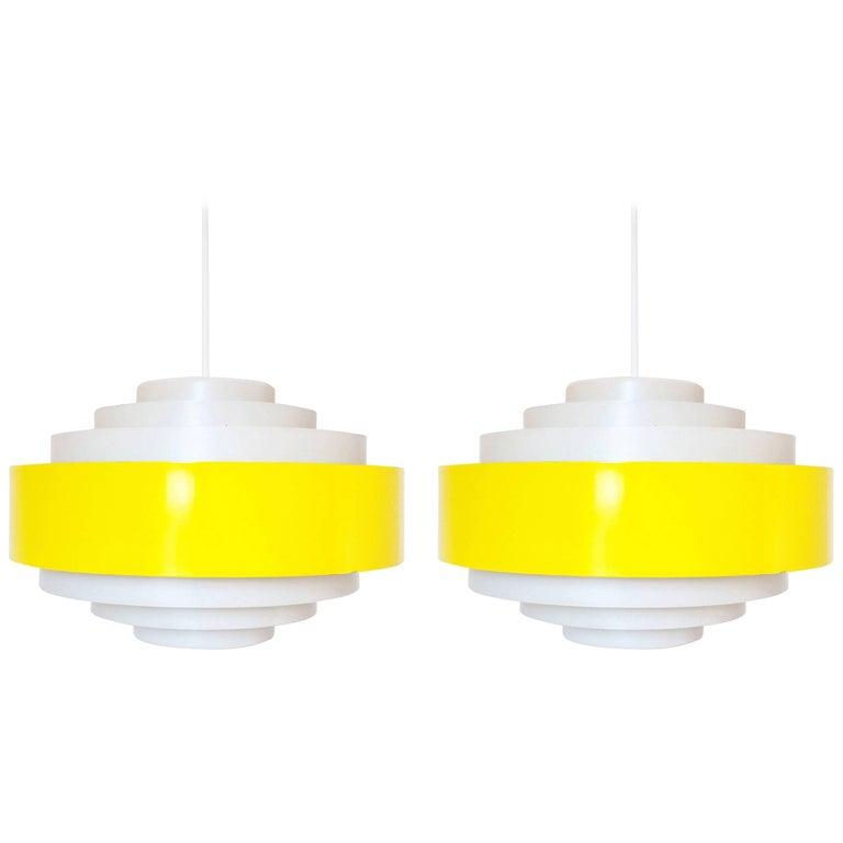 1 of 2 Fog and Morup Pendant Light Model Ultra Design Jo Hammerborg Danish