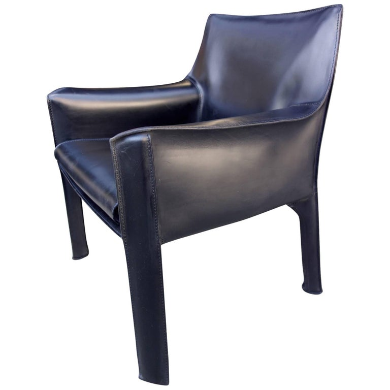 Cassina Cab Lounge Chair by Mario Bellini