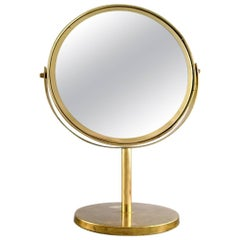 Hans-Agne Jakobsson, Table Mirror / Make-Up Mirror of Brass