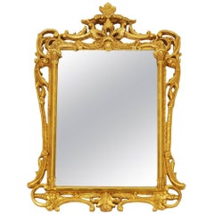 Neoclassical Gilt Mirror in the Style of La Barge