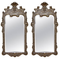Pair of Antique Gilt Mirrors