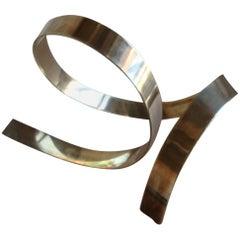 James W. Uhrig Brass Abstract Sculpture