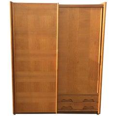 Guillerme et Chambron, 1970 Oak Dresser, Votre Maison Edition