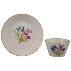18th Century Meissen Porcelain Cup, Marcolini Period