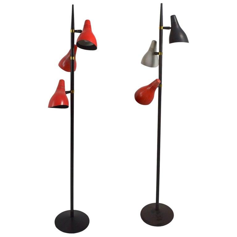Thurston Tri Cone Floor Lamps