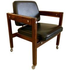 Sergio Rodrigues Rosewood Kiko Chair