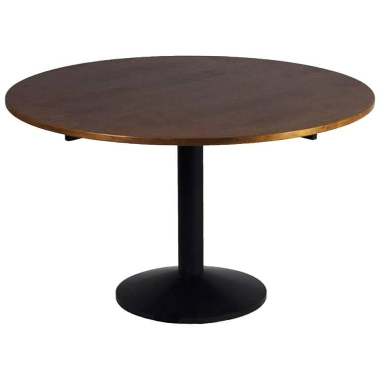 """Round Dining Table Model """"TL30″ by Franco Albini, Italy, 1973"""