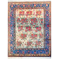 Wonderful Mid-20th Century Afshar Rug