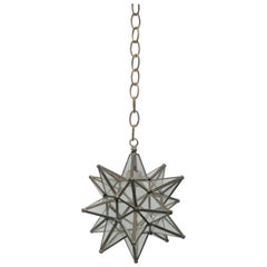 Star Glass Pendant Light