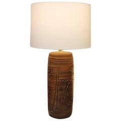 Ceramic Lamp by Bob Kinzie