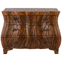 Spectacular Burl Wood Chest by Maitland Smith
