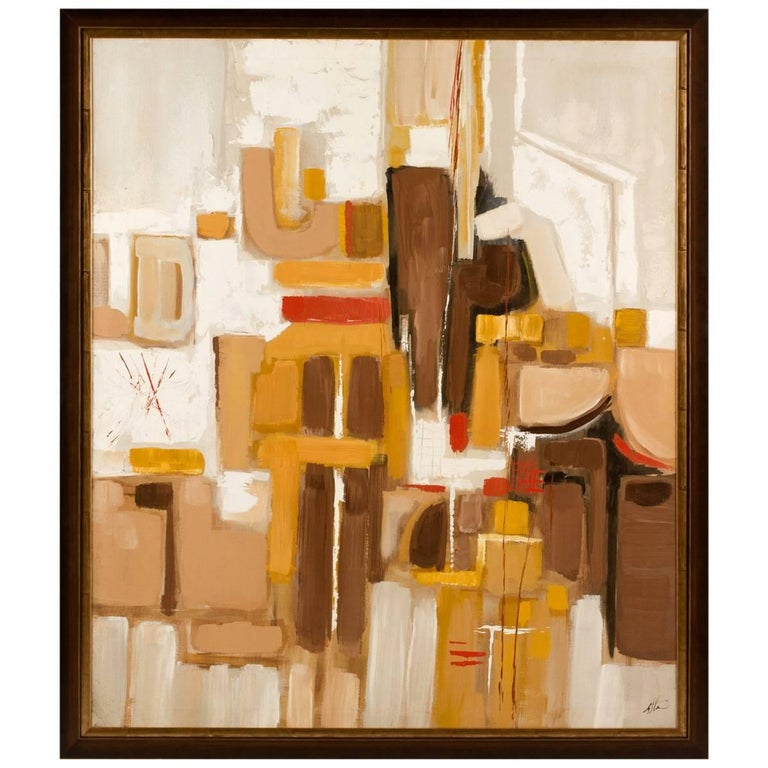 1960s Abstract Painting