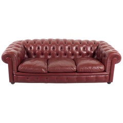 Poltrona Frau 'Chester One' Chesterfield Sofa by Renzo Frau, 1912