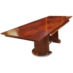 Art Deco French Long Extension Dining Table