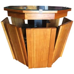 Art Deco Midcentury Automaton Bar Cocktail Cabinet