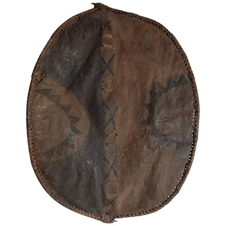 Hide Shield, Kenya, Masai, Early 20th Century For Sale