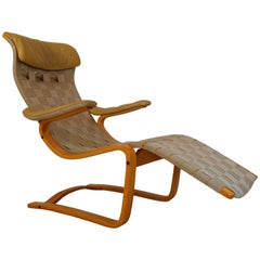 Lounge Chair by Gustav Axel Berg by Broderna Andersson, Sweden, 1970