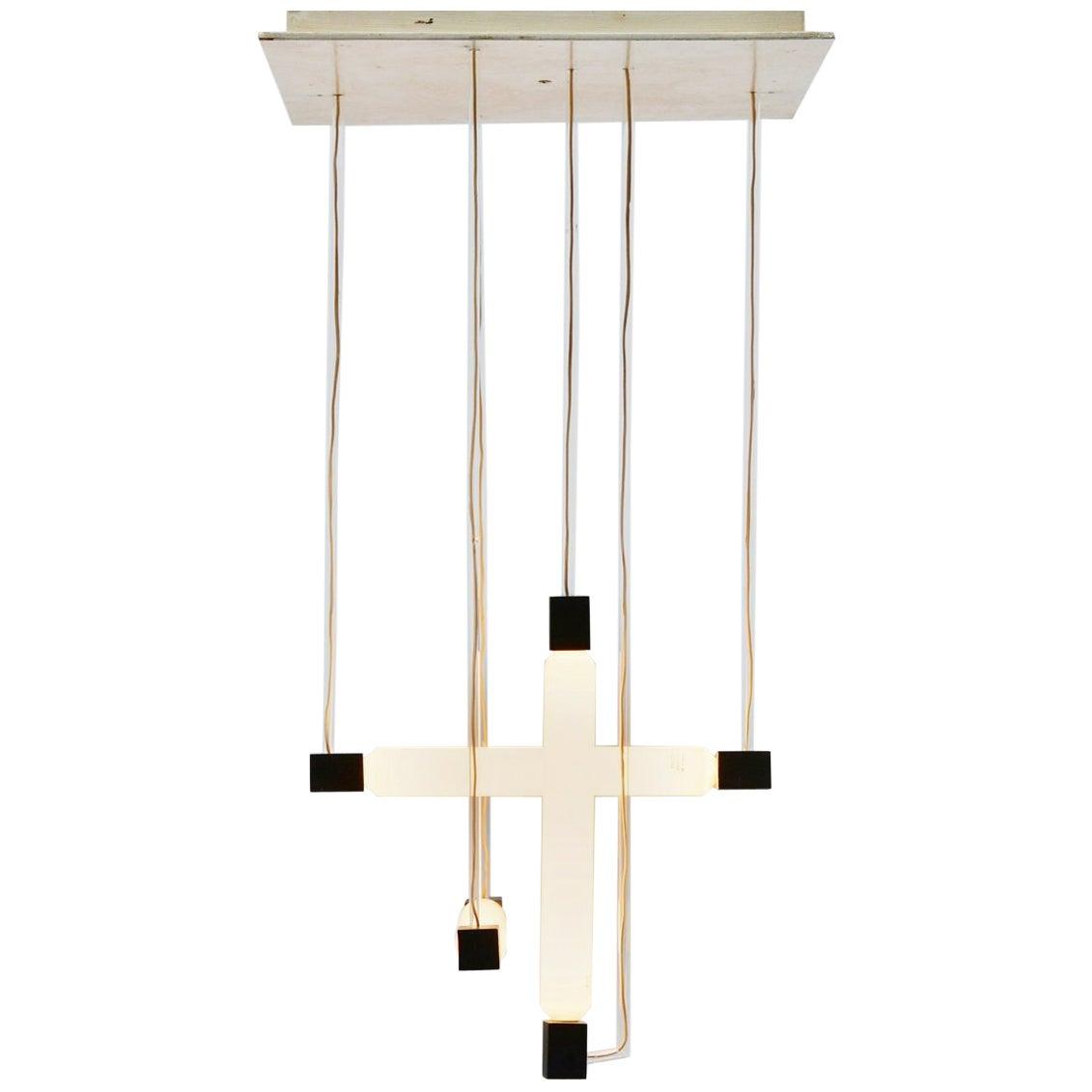 Gerrit Rietveld Buizenlamp Tubular Lamp Holland, 1950