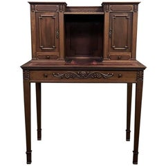 19th Century French Louis XVI Wall Desk