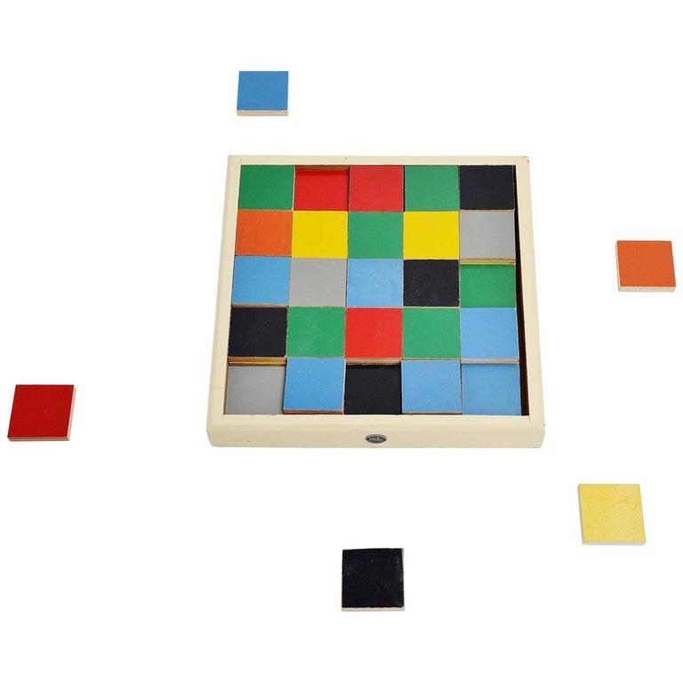 Ado Ko Verzuu Tiles Puzzle Box Model 259, Holland, 1939