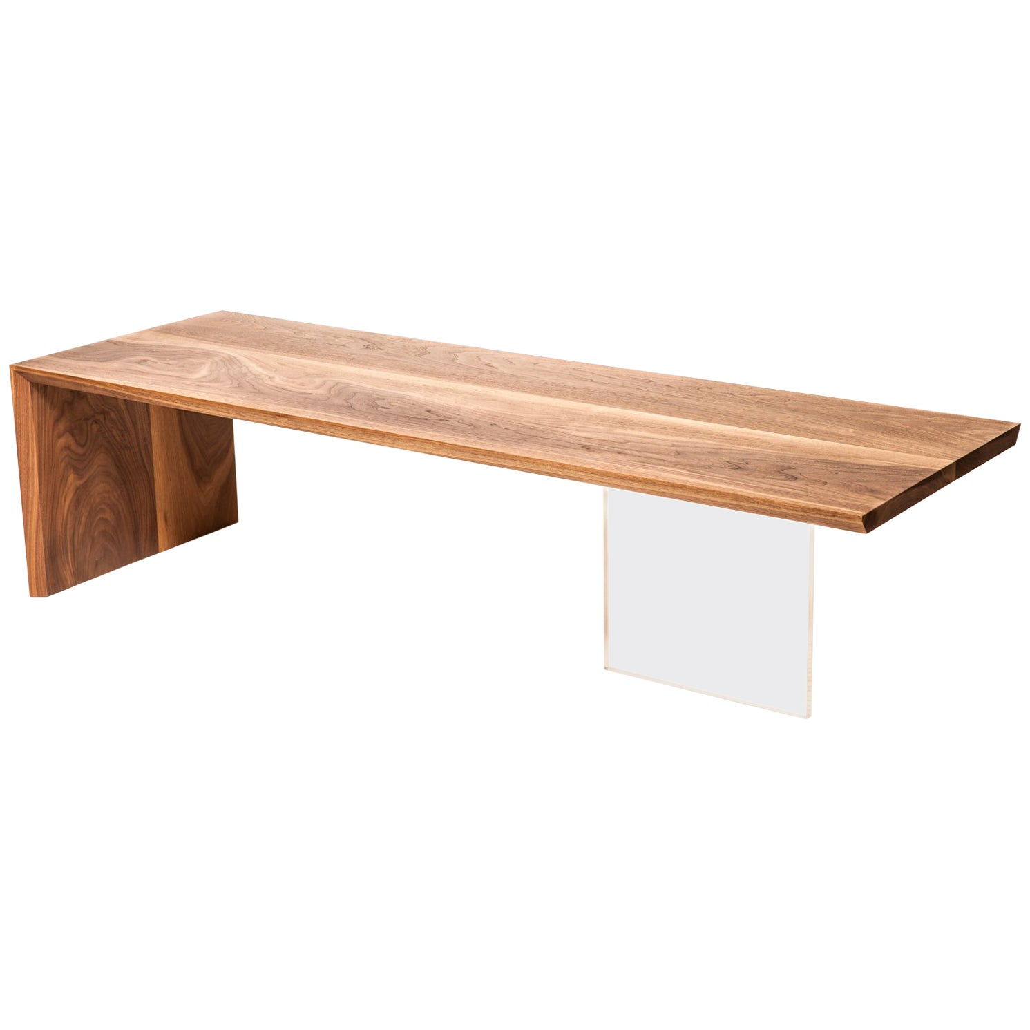 Coffee Table in Wood by Fred Rossi