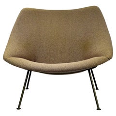 Midcentury Modern Easy Chair Oyster designed by Pierre Paulin for Artifort