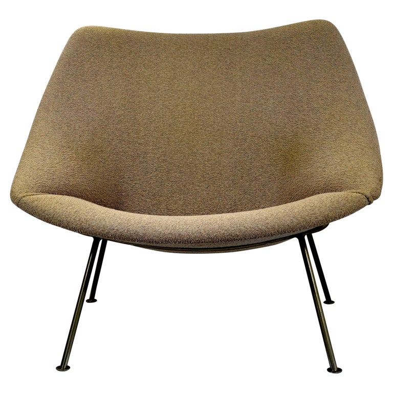 Amazing Midcentury Modern Easy Chair Oyster Designed By Pierre Paulin For Artifort Beatyapartments Chair Design Images Beatyapartmentscom