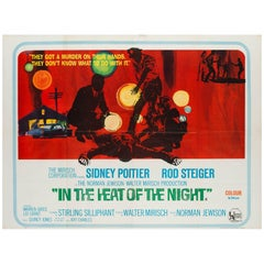 In the Heat of the Night Original UK Film Poster, 1967