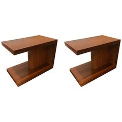 Pair of Van Keppel and Green 1950s Side Tables