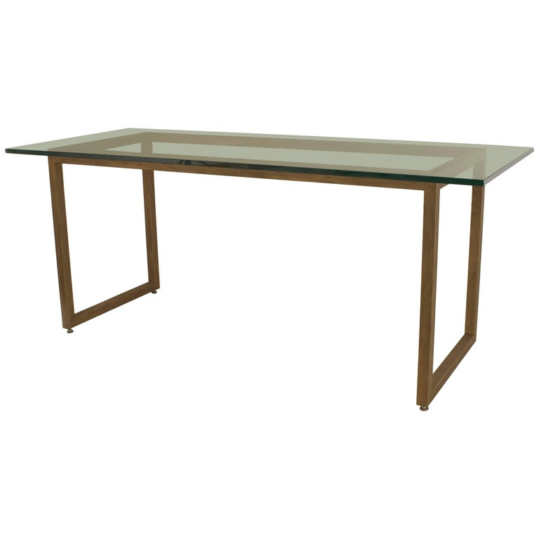 American Mid-Century Modern Style Dining Table For Sale
