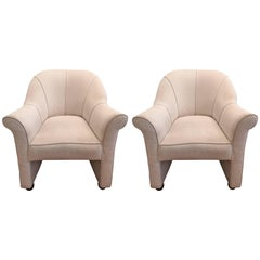 Pair of Andree Putman 1980s Chairs