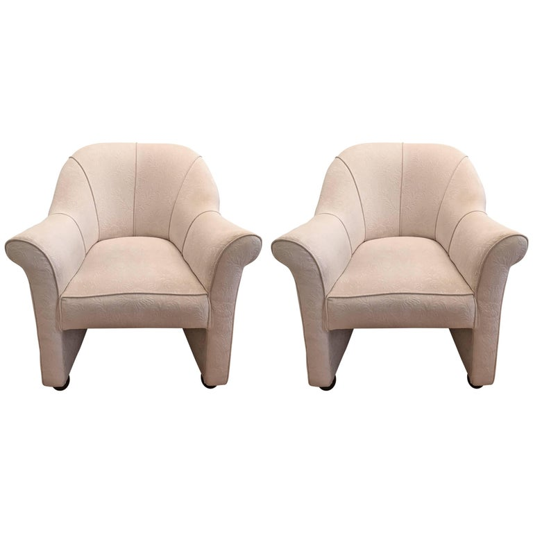 Pair of Andree Putman 1980s Chairs