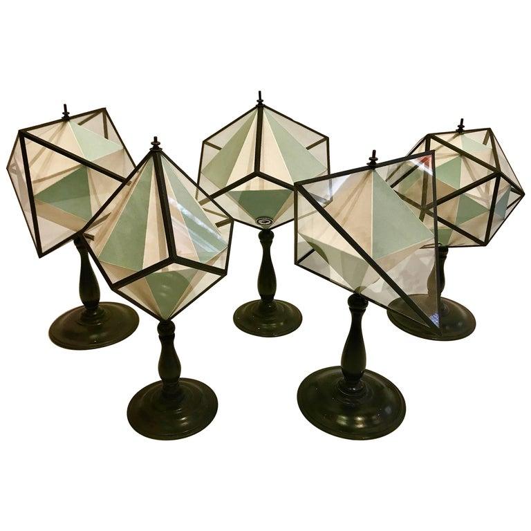 Limited Edition Geometric Sculptures by Memento-Mori, Paris, France
