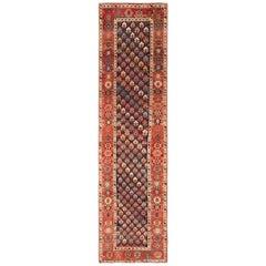 Tribal Antique Northwest Persian Runner Rug