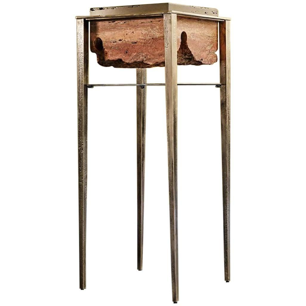 Cremino Pedestal Handcrafted by Gianluca Pacchioni