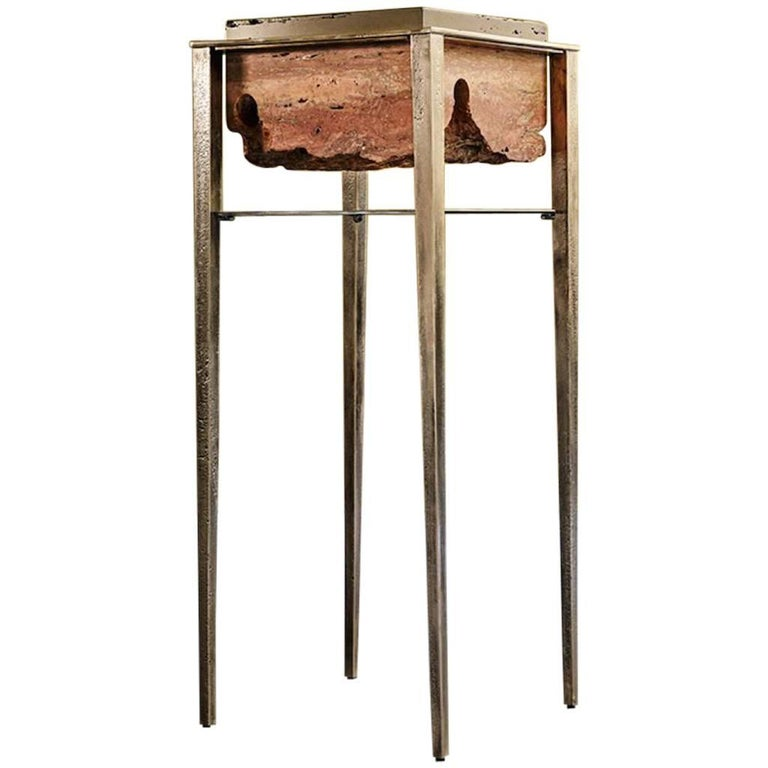 Cremino Pedestal Handcrafted by Gianluca Pacchioni For Sale