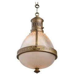 Holophane Lantern, circa 1900
