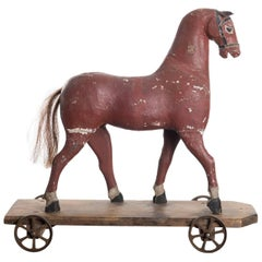 Swedish Toy Horse from the 19th Century