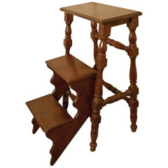 Metamorphic Kitchen or Library Step Stool