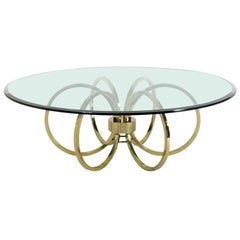 Brass Loop Coffee Table