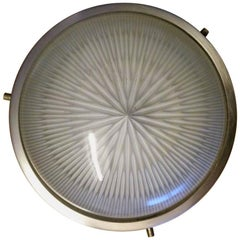 1960s Sergio Mazza 'Sigma' Wall or Ceiling Light for Artemide